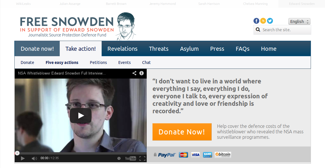 Snowden_website
